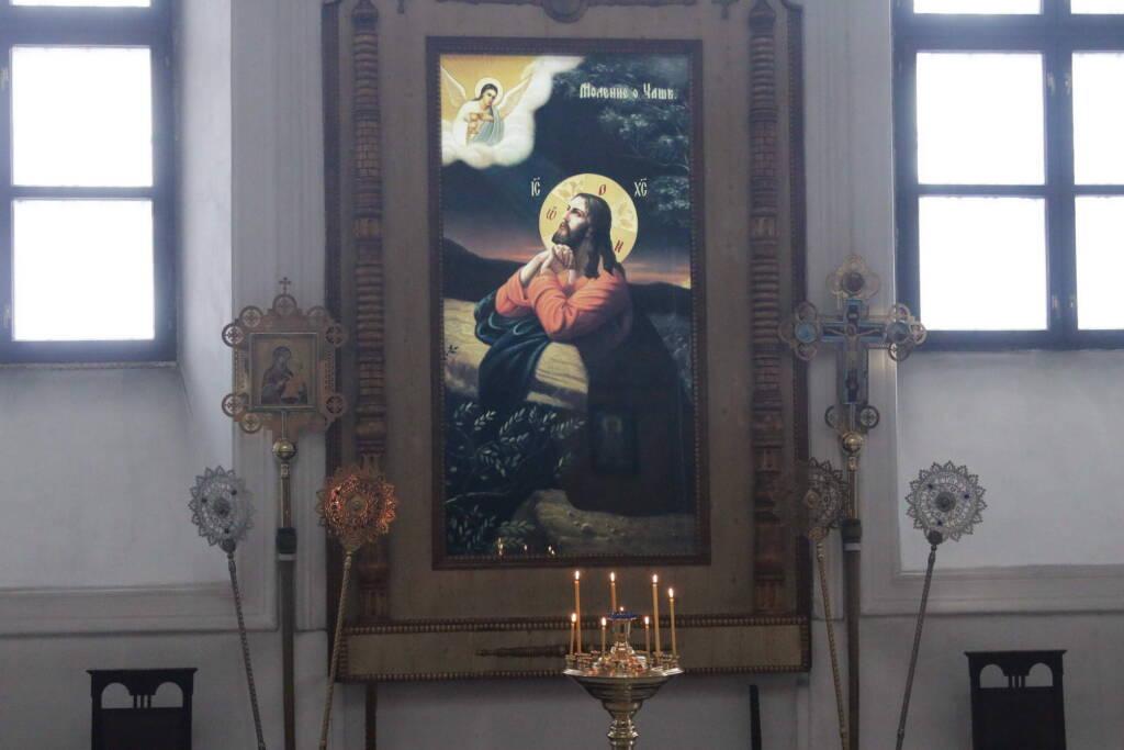 Божественная Литургия в Неделю 2-ю Великого поста в Вознесенском Кафедральном соборе города Касимова