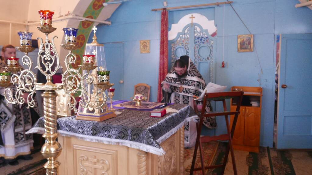Соборное служение духовенства Елатомского благочиния