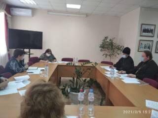 Совместное заседание администрации Шиловского района с духовенством поселка