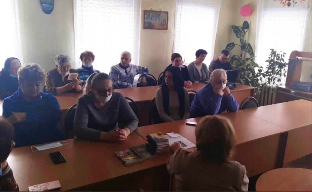 В центральной районной библиотеке р.п. Пителино состоялся час православия о преподобном Германе Аляскинском