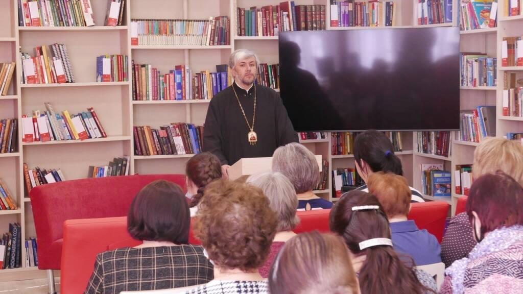 Епископ Василий встретился с педагогами образовательных учреждений г. Касимова