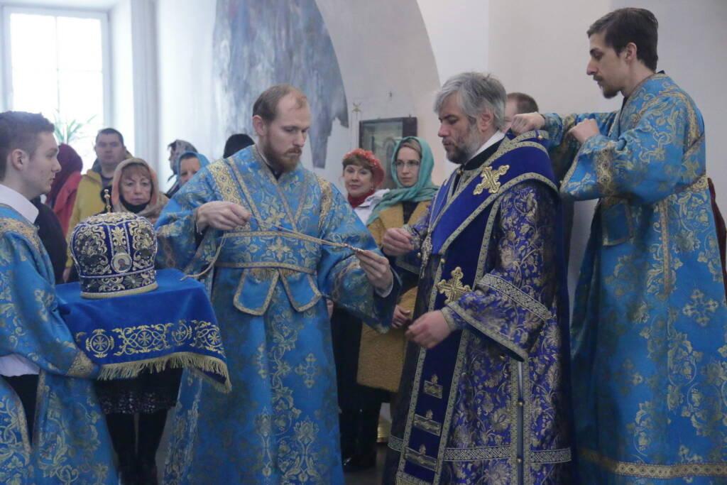 Престольный праздник в Благовещенском храме города Касимова