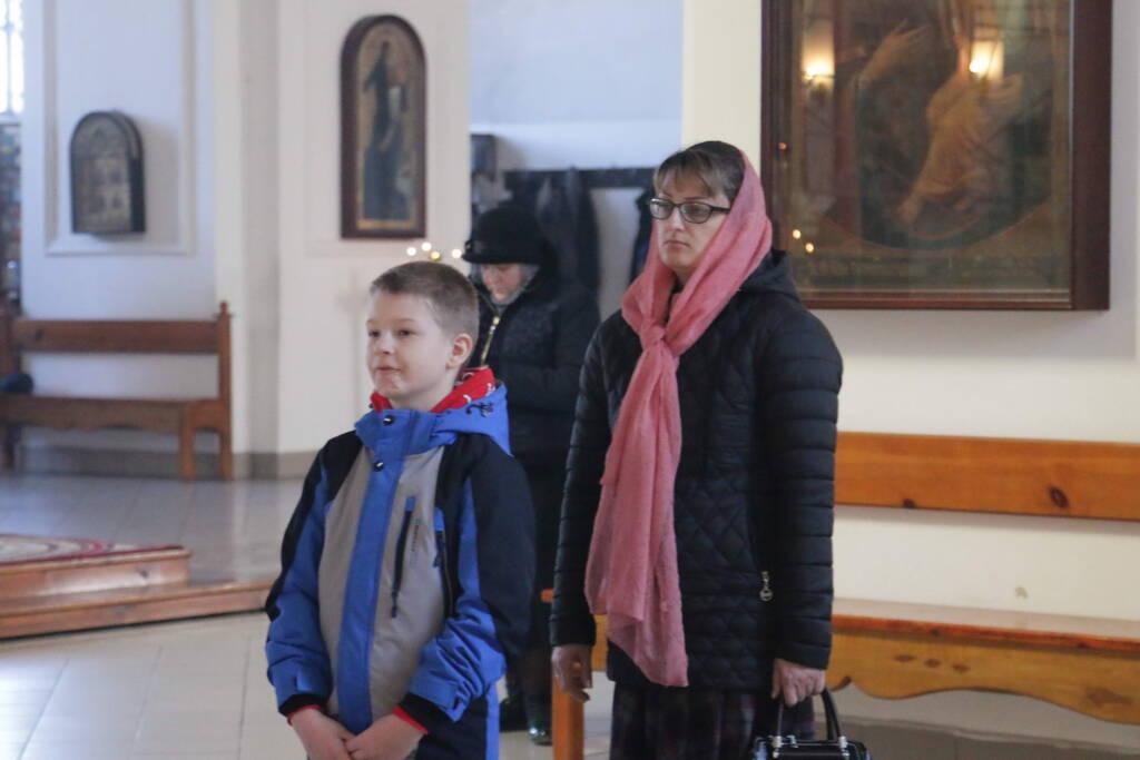 Всенощное Бдение  в канун Недели 4-й Великого поста, преподобного Иоанна Лествичника в Вознесенском Кафедральном соборе города Касимова