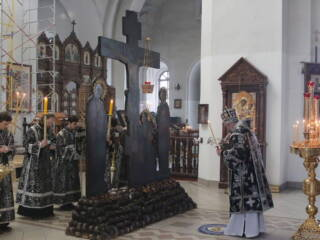 Пассия в Вознесенском Кафедральном соборе города Касимова