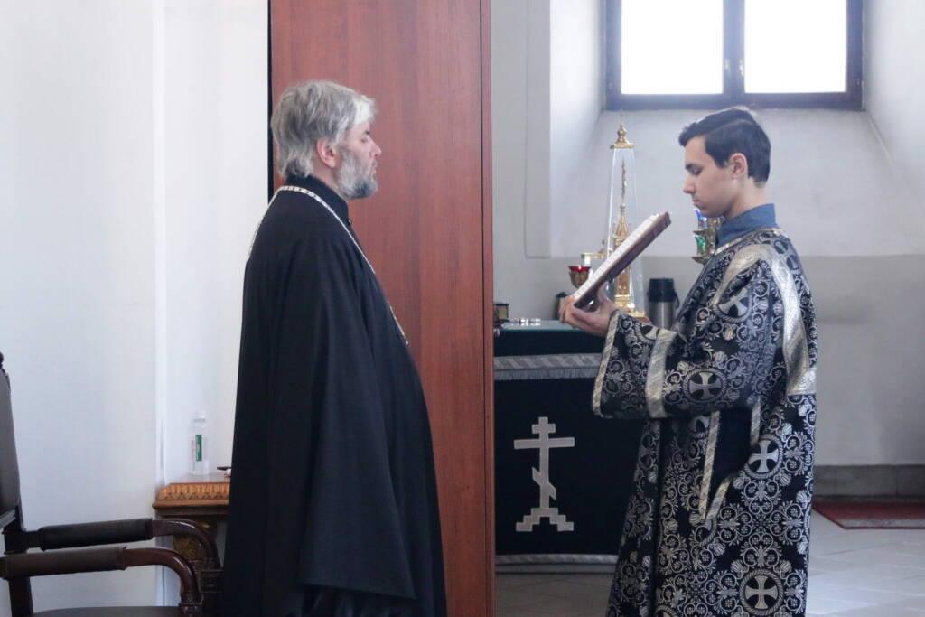 Утреня с чтением Великого покаянного канона преподобного Андрея Критского в Вознесенском Кафедральном соборе города Касимова