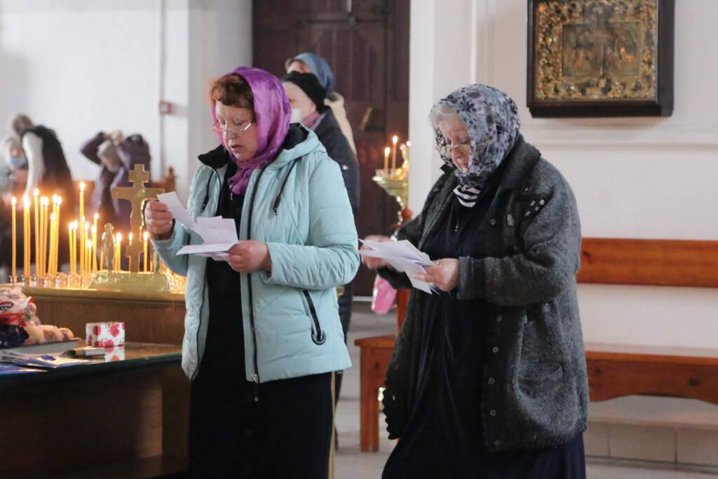 Божественная Литургия в Воспоминание Тайной Вечери в Вознесенском Кафедральном соборе города Касимова