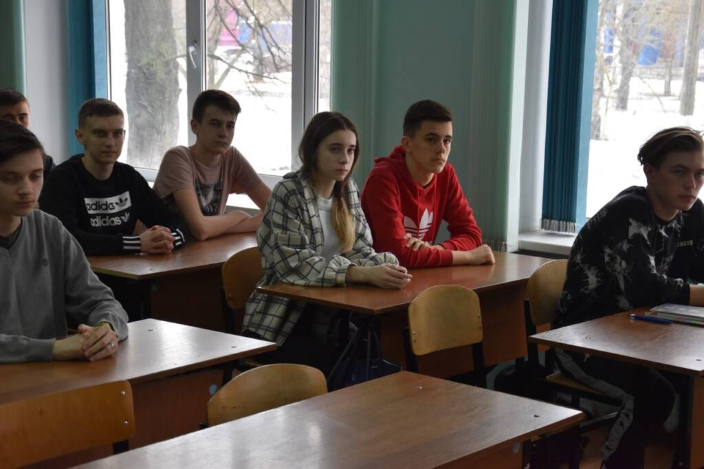 Встреча с учениками 10 класса школы № 6 г. Сасово