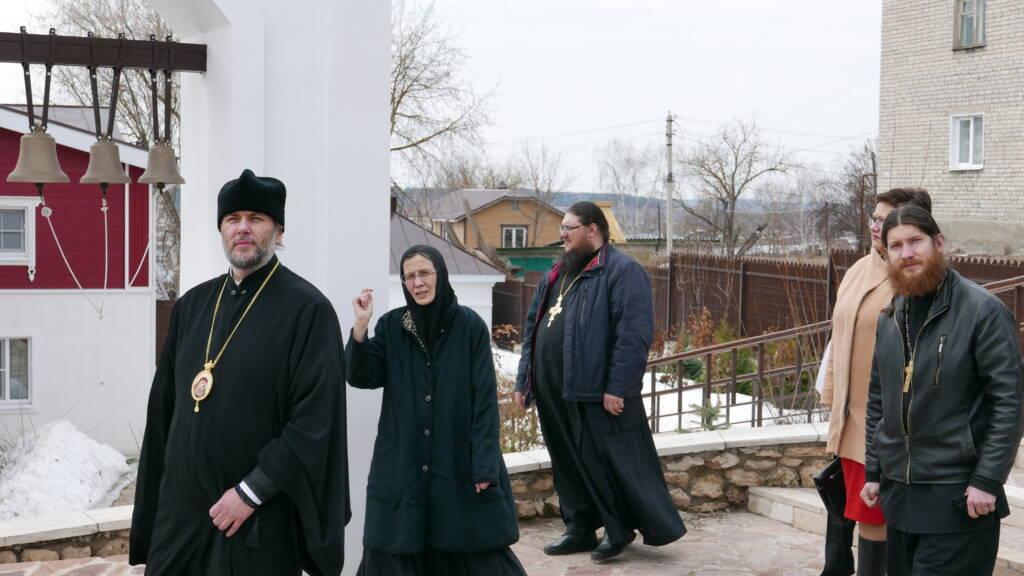 Епископ Василий и представители городской администрации посетили исторические места города Касимова