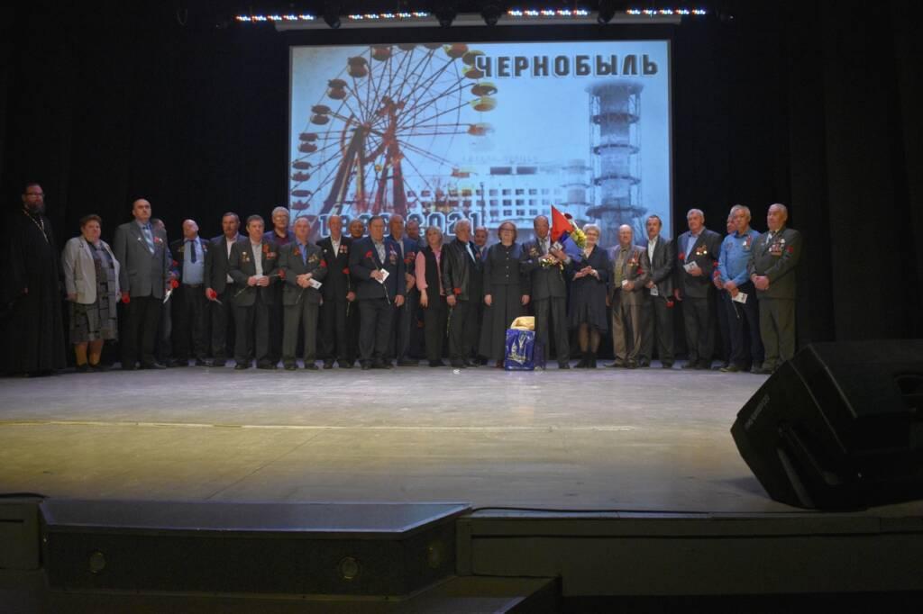 Настоятель Троицкого храма г. Касимова протоиерей Николай Верховцев принял участие в памятном концерте «Эхо Чернобыля», посвященном 35-ой годовщине трагедии на Чернобыльской АЭС