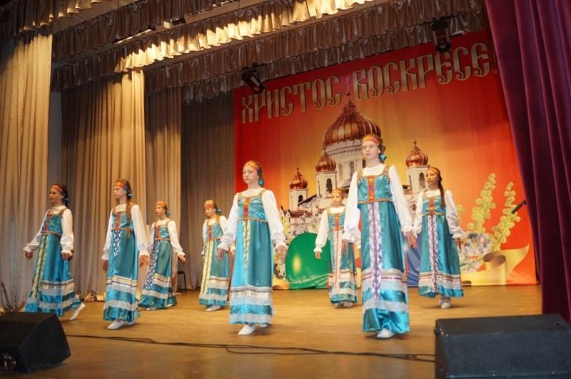 В Ермишинском районном Доме культуры состоялся праздничный концерт «Пасхальная радость», посвященный празднику Светлого Христова Воскресения