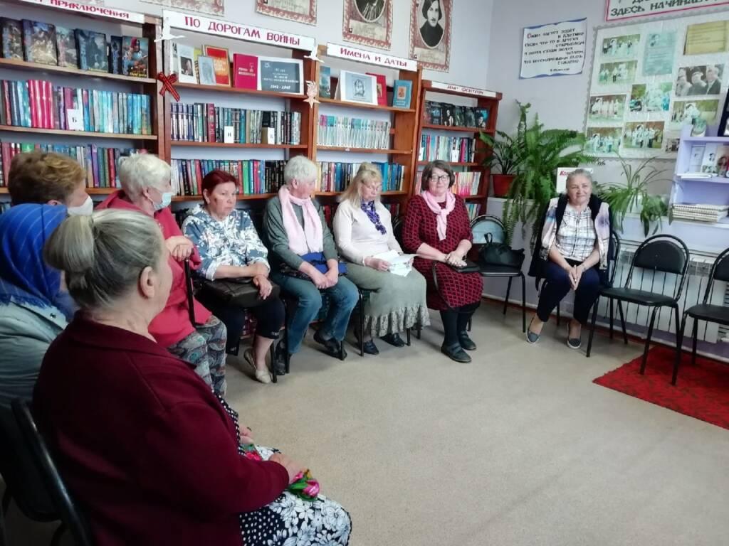В библиотеке с. Клетино Касимовского района состоялось празднование Дня славянской письменности и культуры