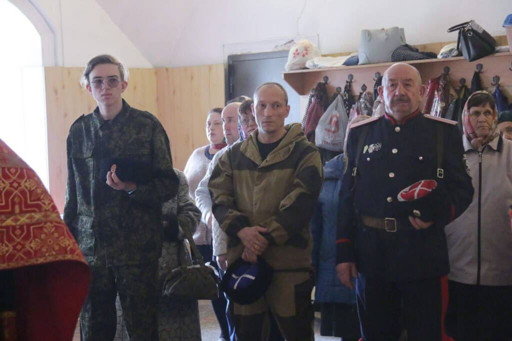 Престольный праздник в Георгиевском храме города Касимова в четверг Светлой Седмицы