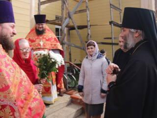 Божественная Литургия в пятницу Светлой Седмицы в Никольском храме г. Спас-Клепики