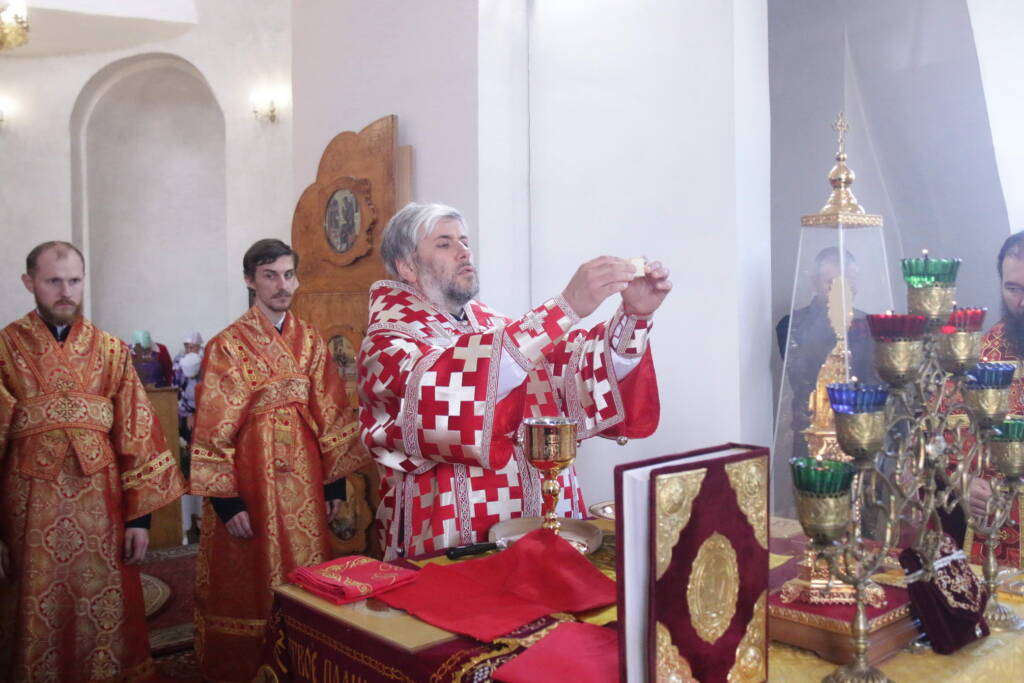 Престольный праздник в Никольском храме села Аладьино Чучковского района