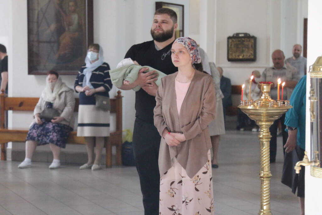 Божественная Литургия в Неделю 4-ю по Пасхе, о расслабленом в Вознесенском Кафедральном соборе города Касимова