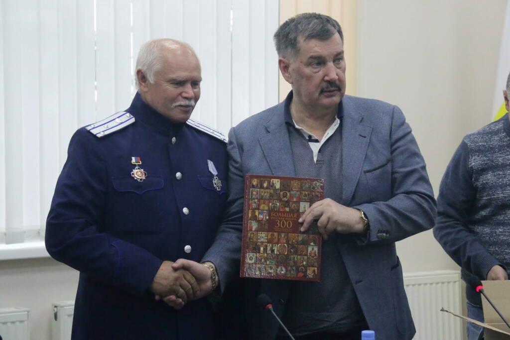 Преосвященный епископ Василий принял участие в работе круглого стола, посвященного значению святого князя Александра Невского в истории России
