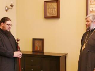 03.05.2021_Сотрудники поздравили архиерея с праздником Пасхи