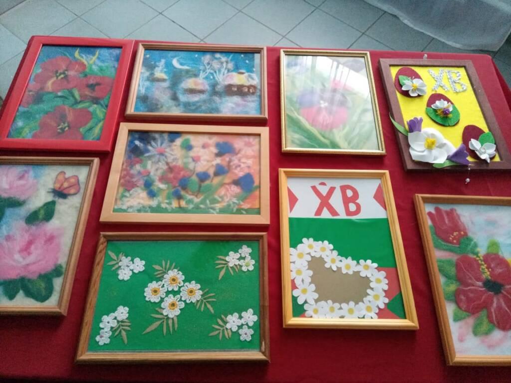 В Кадоме открылась районная выставка декоративно-прикладного творчества и изобразительного искусства «Пасха моей души»