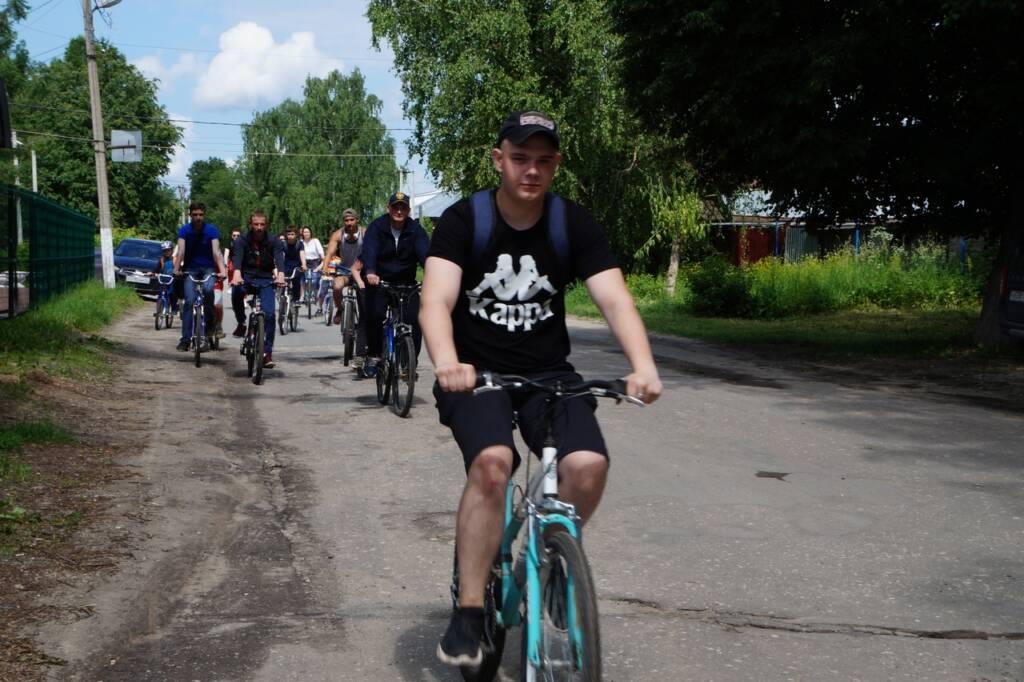 14 июня состоялся двухколесный марш-бросок, организованный молодежным отделом