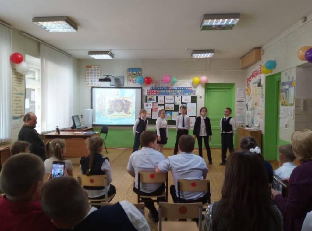 В Инякинской средней школе состоялось мероприятие, посвященное празднику Пасхи