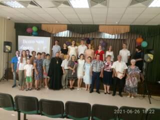 28.06.2021_о.Алексий Уваров посетил выпускной в Ерахтуре
