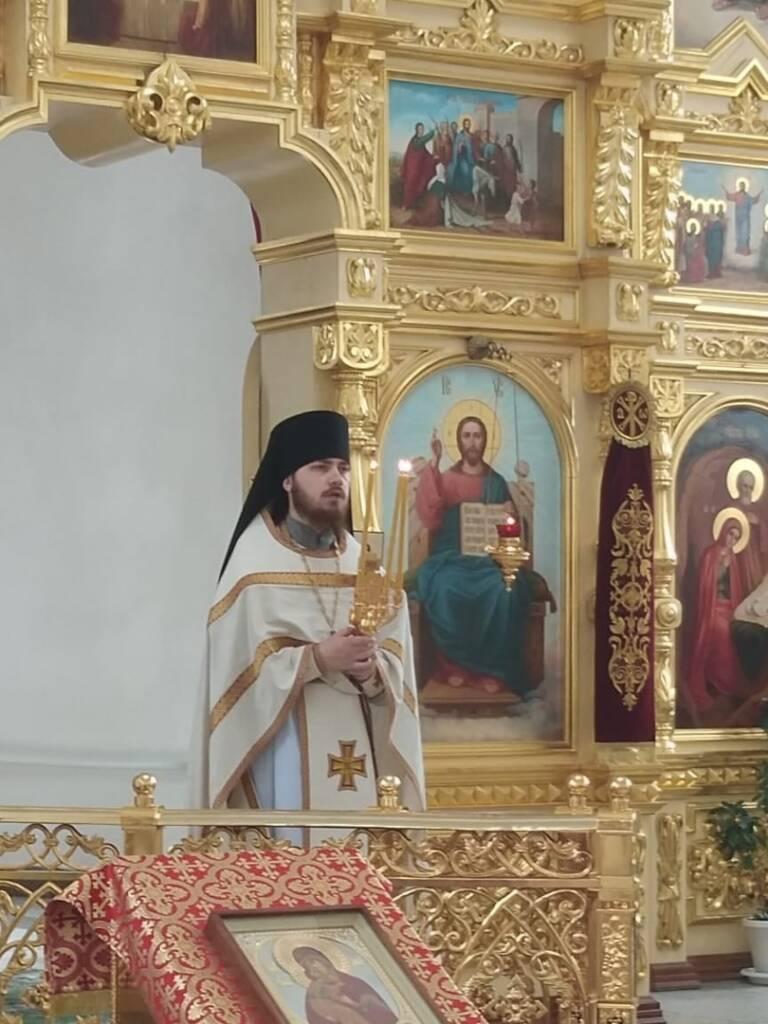 В Лашме освятили надвратную икону для храмового комплекса