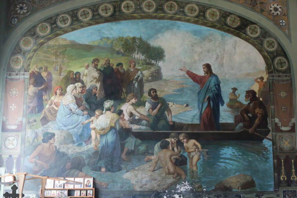 Божественная Литургия в день Святого Духа в Троицком храме рабочего поселка Тума Клепиковского района