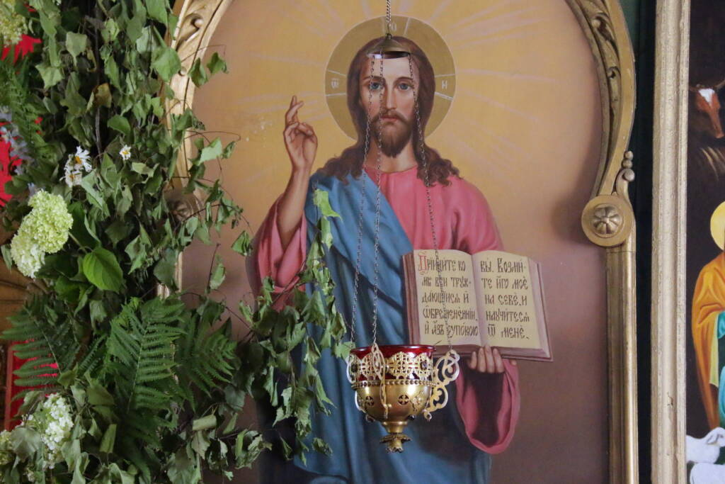 Празднование памяти великомученицы Параскевы Пятницы в селе Даньково Касимовского района