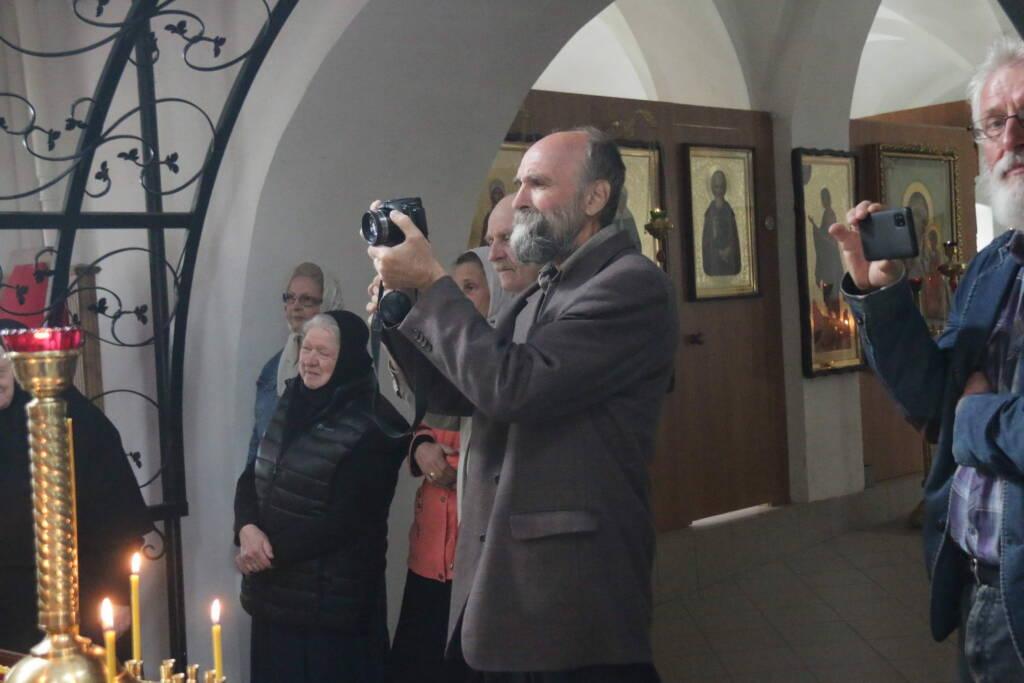 Престольный праздник в Скорбященском (Никольском) храме села Митино Касимовского района