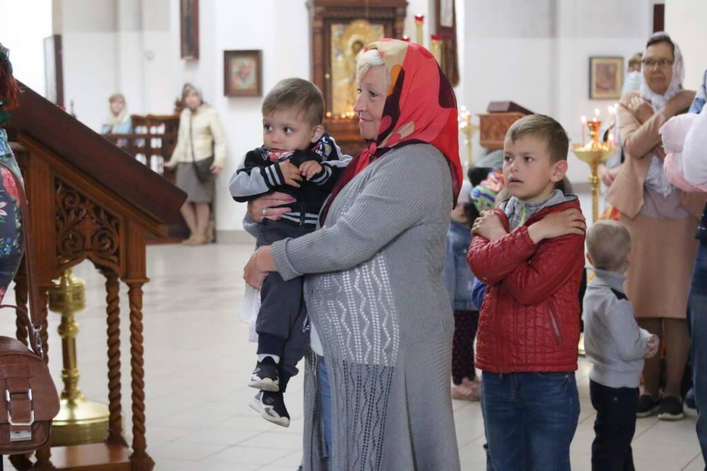Божественная Литургия в Неделю 6-ю по Пасхе, о слепом в Вознесенском Кафедральном соборе города Касимова