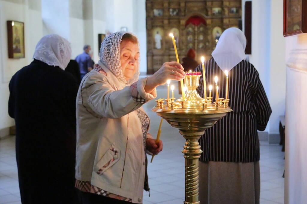 Всенощное бдение в канун праздника Вознесения Господня в Вознесенском Кафедральном соборе города Касимова