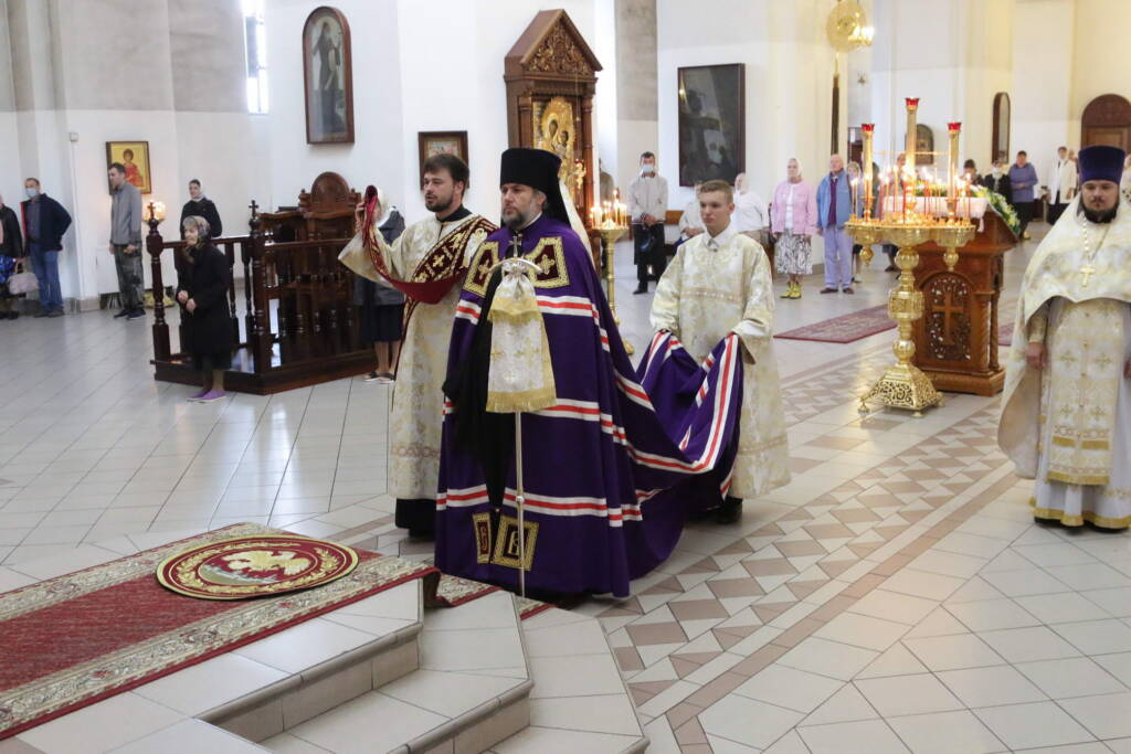 Престольный праздник в Вознесенском Кафедральном соборе города Касимова