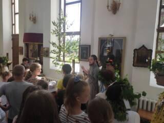 28.06.2021_Учащиеся Лашманской школы посетили храм в Лашме