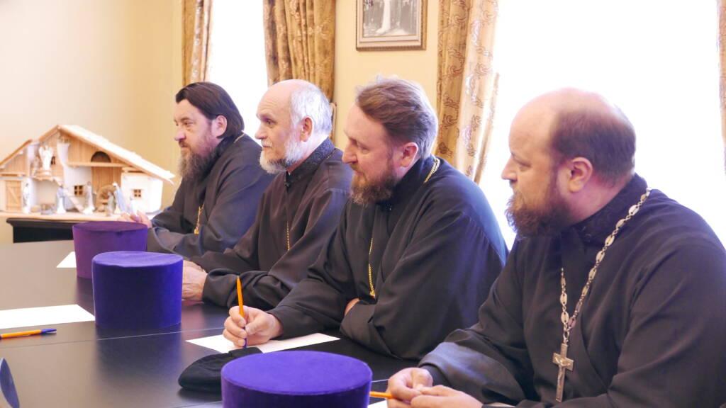 Епископ Василий возглавил собрание благочинных Касимовской епархии