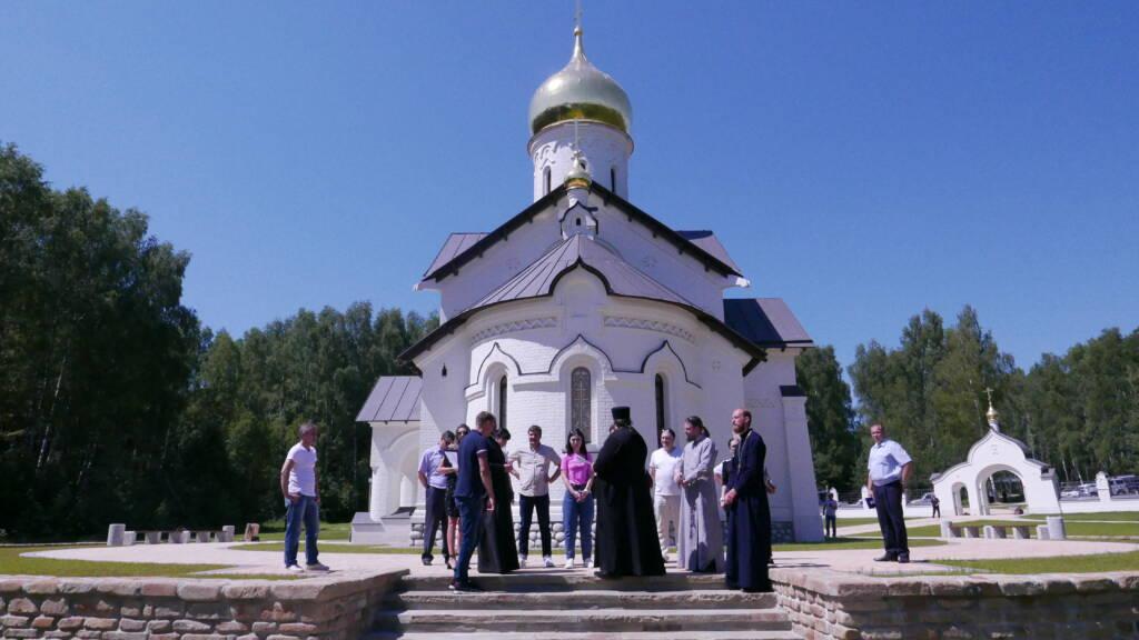 Состоялось совещание рабочей группы по освящению храма благоверных Петра и Февронии Муромских с. Залесное