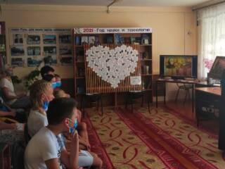 В Гусевской библиотеке протоиерей Роман Попов встретился с юными читателями
