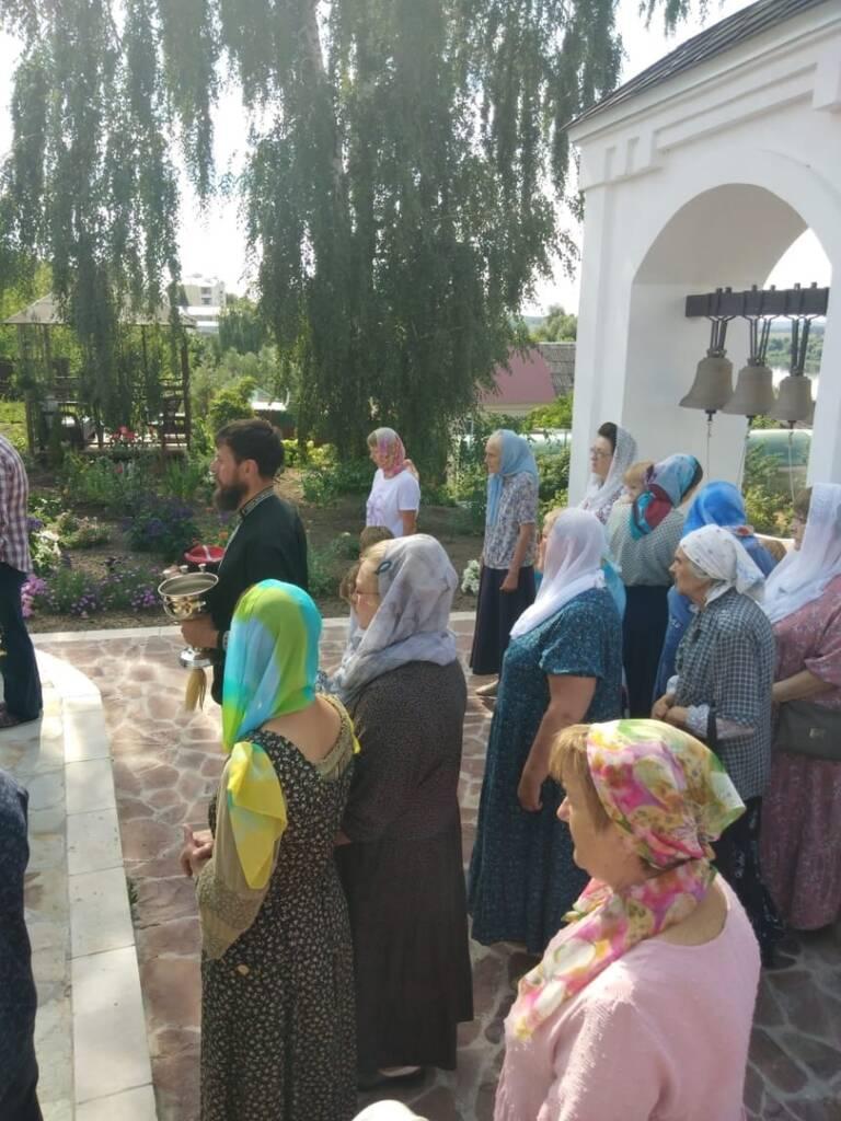 Престольный праздник в Казанском женском монастыре города Касимова