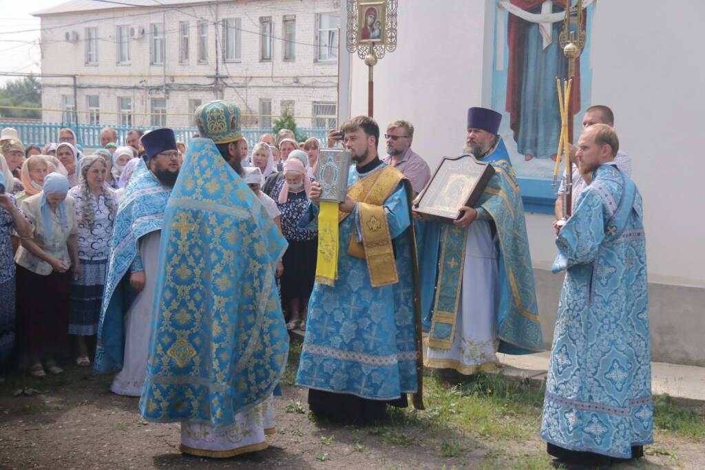 Престольный праздник в Казанском соборе города Сасово