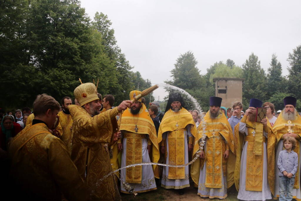 Торжества по случаю дня памяти блаженной Матроны Анемнясевской