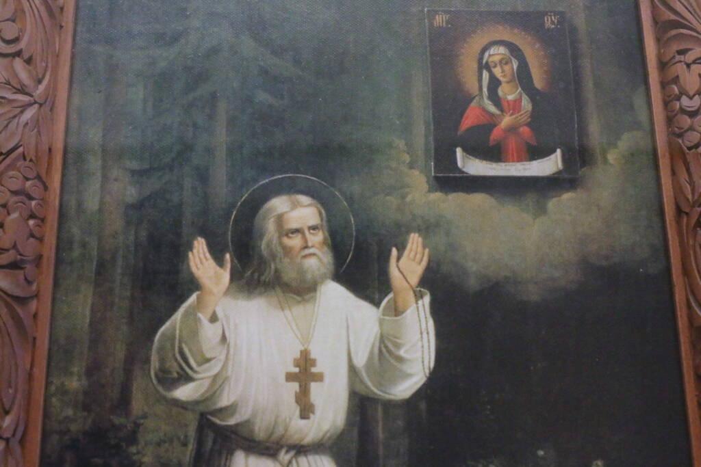 Всенощное бдение в канун Недели 6-й по Пятидесятнице в Вознесенском Кафедральном соборе города Касимова