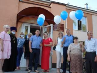 08.07.21_о.Николайй Антонов в ЗАГСе посетил мероприятие