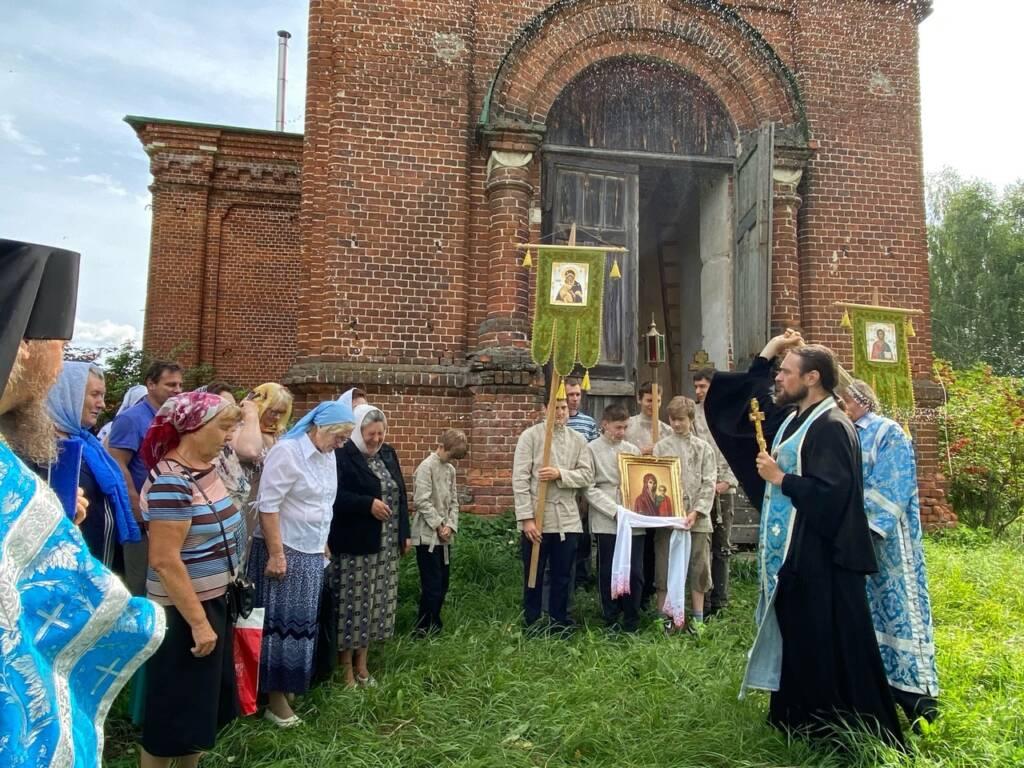 Престольный праздник в селе Чёмбар