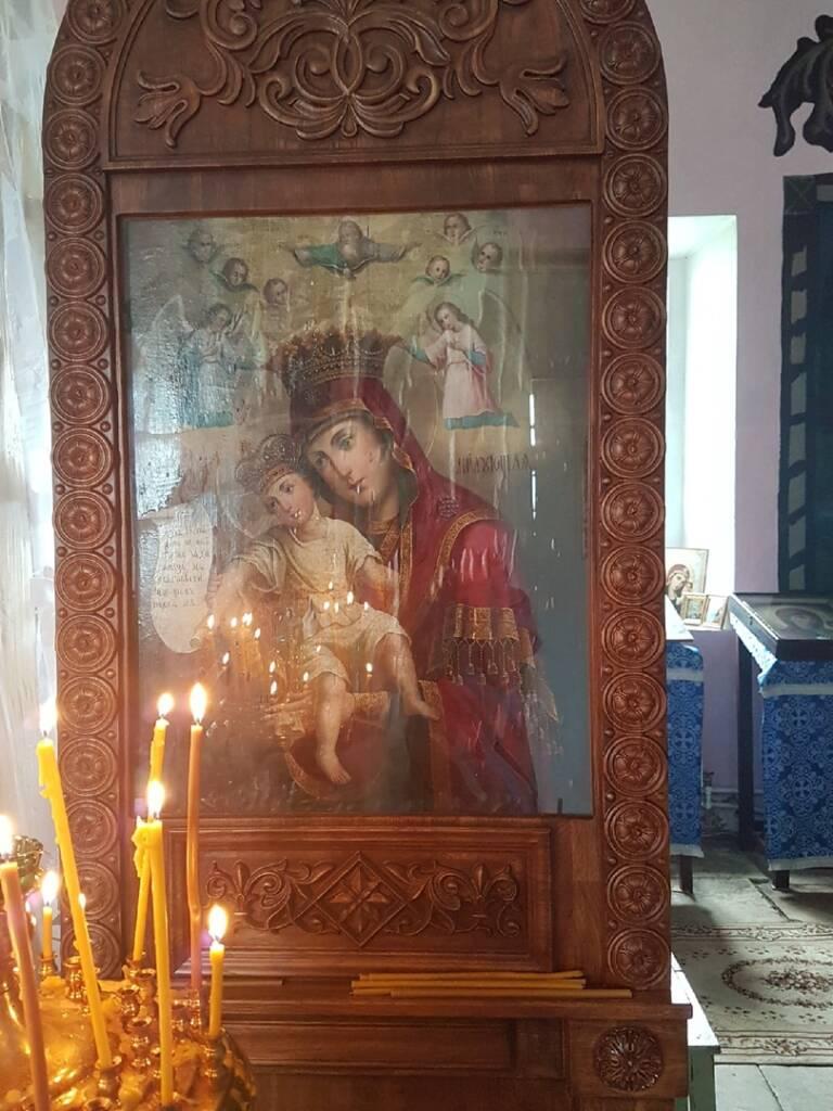 Престольный праздник в храме Смоленской иконы Божией Матери с. Высокие Поляны Пителинского района