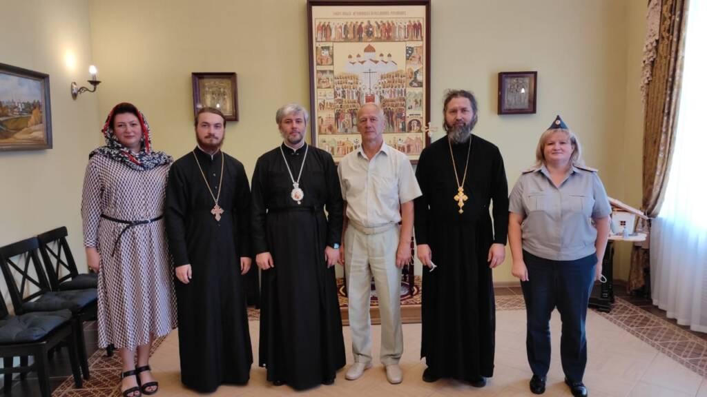 Епископ Василий встретился с представителями УФСИН по Рязанской области