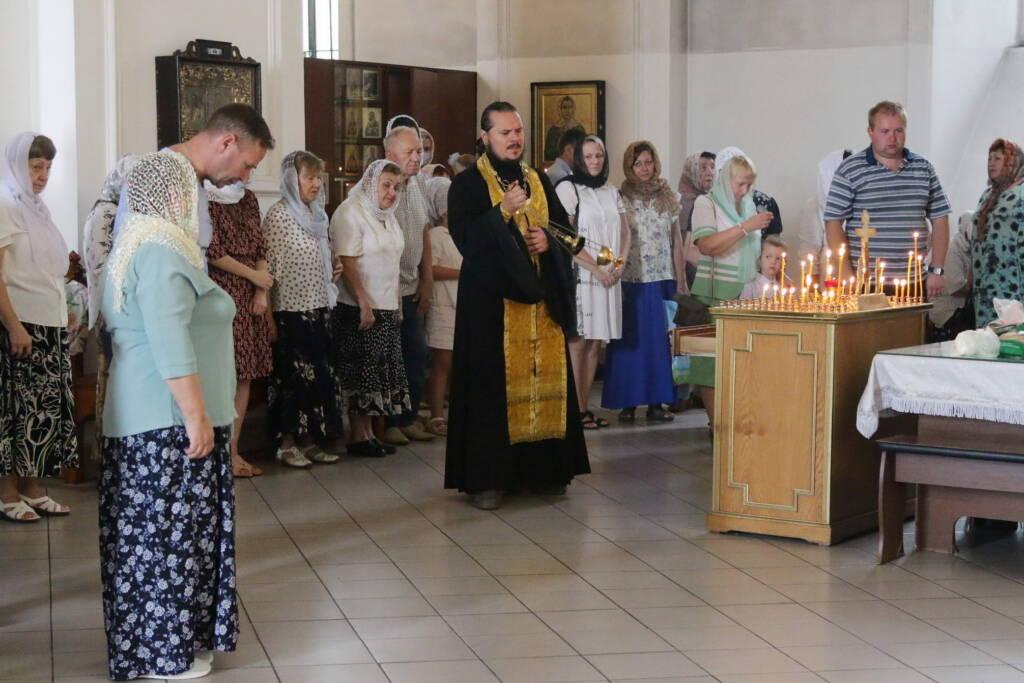 Божественная Литургия в Неделю 6-ю по Пятидесятнице в Вознесенском Кафедральном соборе города Касимова