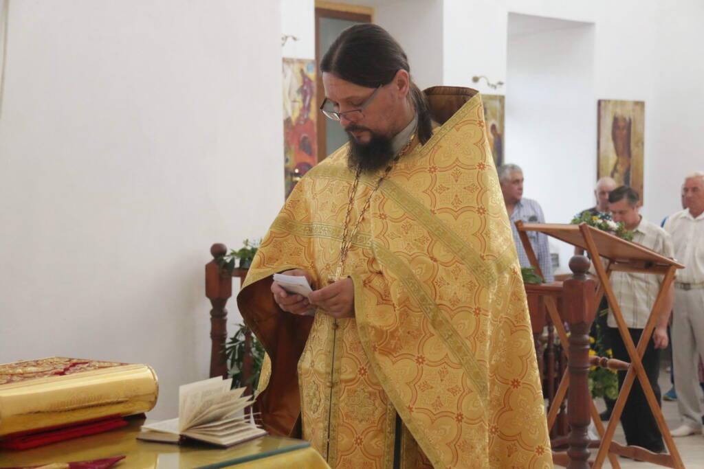 Престольный праздник в Ильинском храме города Касимова
