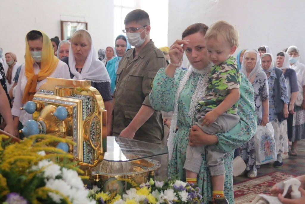 Торжества по случаю принесения ковчега с частицей мощей благоверного великого князя Александра Невского в Рязань