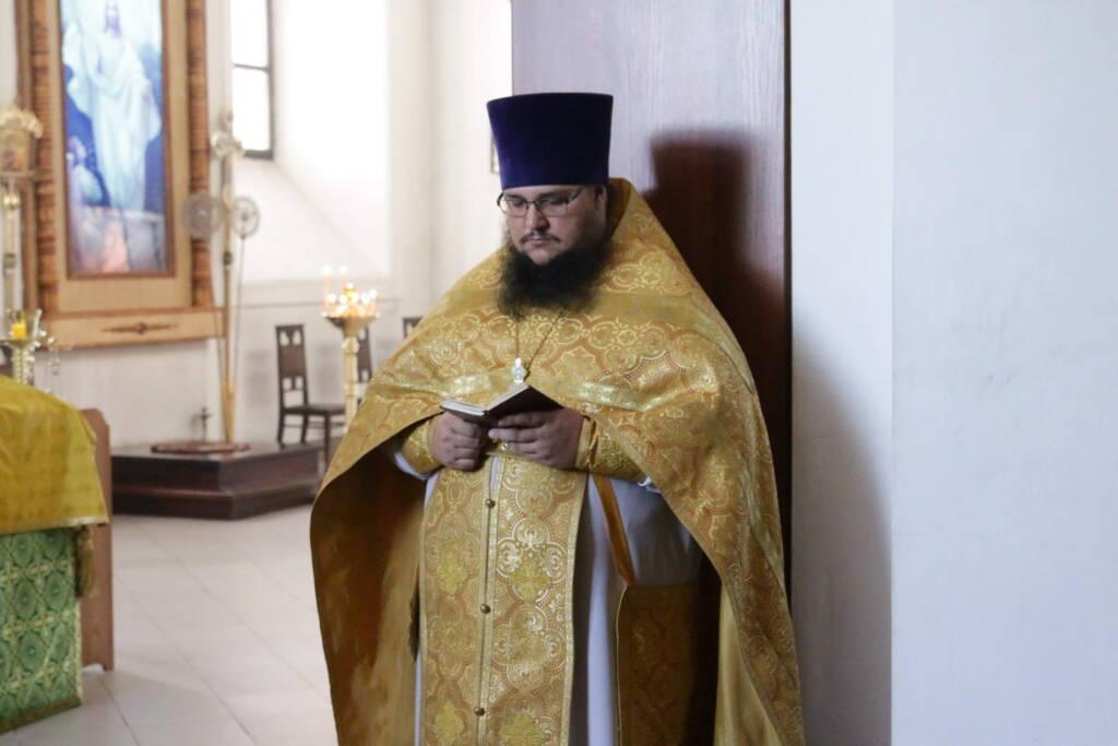 Божественная Литургия в Неделю 7-ю по Пятидесятнице в Вознесенском Кафедральном соборе города Касимова