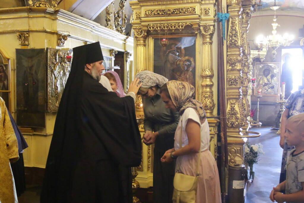 Божественная Литургия в Неделю 8-ю по Пятидесятнице в Никольском храме города Касимова