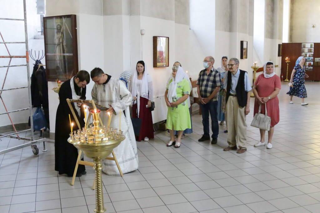 Праздник Преображения Господня в Вознесенском Кафедральном соборе города Касимова